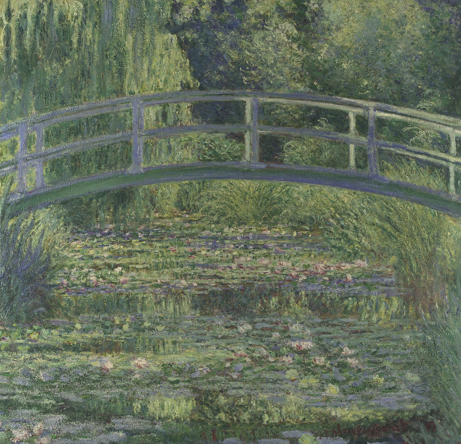 5. Claude-Oscar Monet, The Water-Lily Pond,1899. National Gallery, London - © National Gallery, London