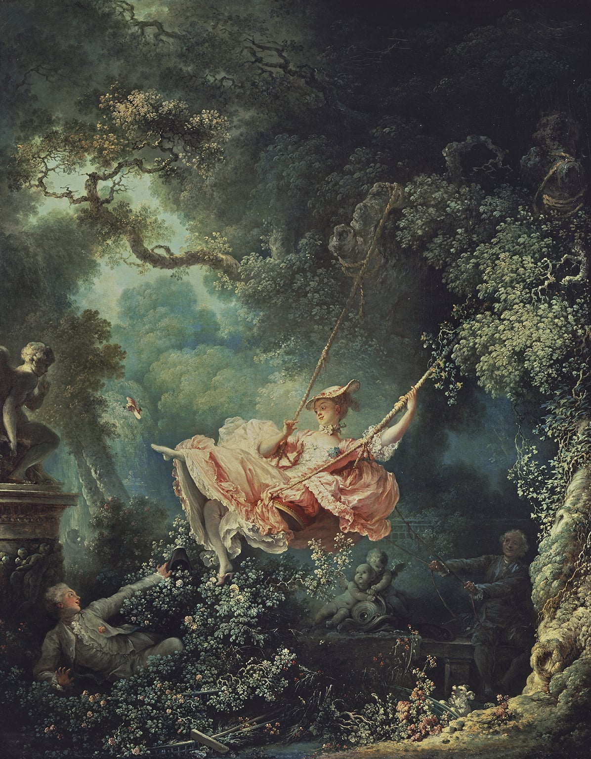 4. Jean-Honore Fragonard, The Swing, 1767 (Frame Art Funded in 1974). The Wallace Collection, London - © The Wallace Collection