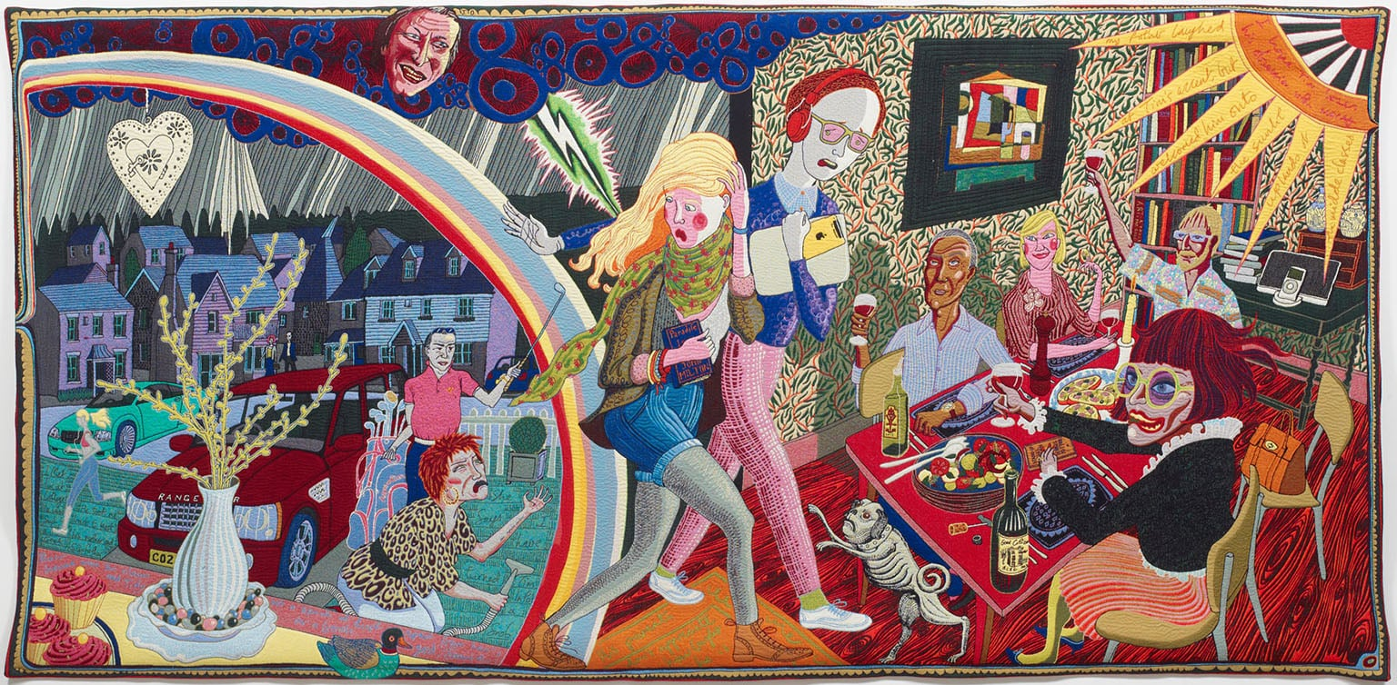 Grayson Perry, Expulsion from Number 8 Eden Close, 2012 - Courtesy the Artist and Victoria Miro Gallery, London, © Grayson Perry