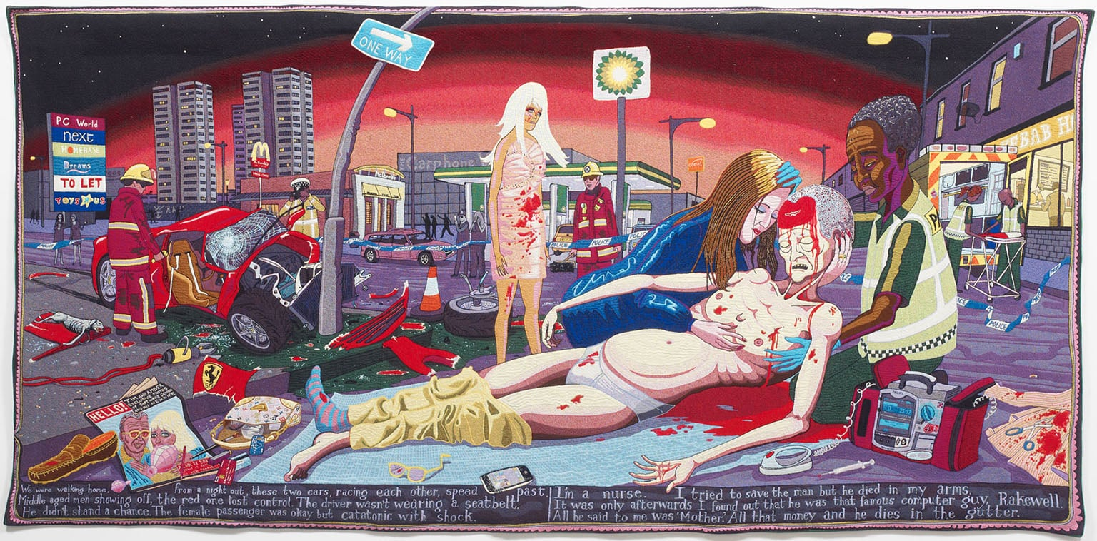 Grayson Perry, #Lamentation, 2012 - Courtesy the Artist and Victoria Miro Gallery, London, © Grayson Perry