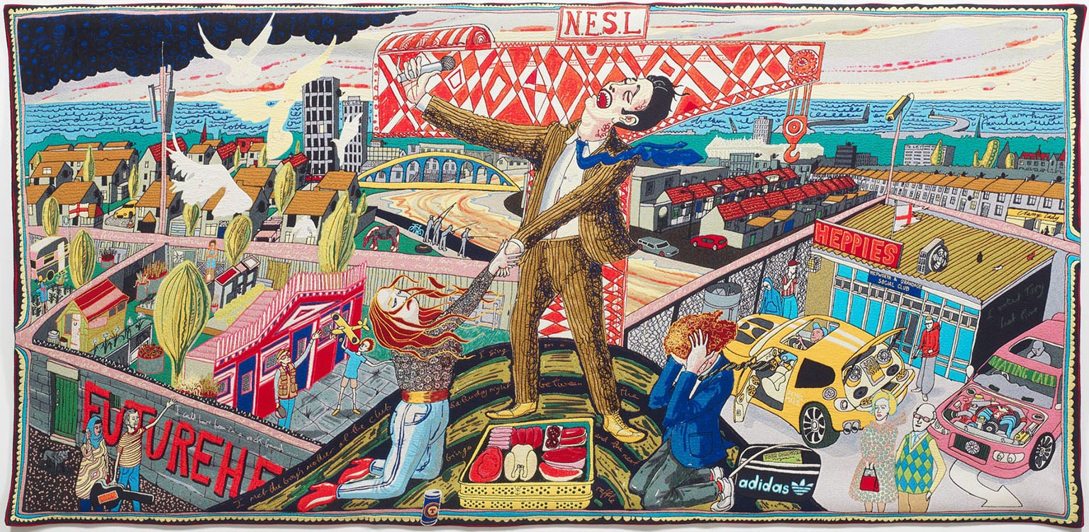 Grayson Perry, The Agony in the Car Park, 2012 - Courtesy the Artist and Victoria Miro Gallery, London, © Grayson Perry