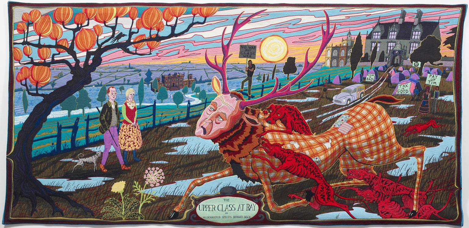 Grayson Perry, The Upper Class at Bay, 2012 - Courtesy the Artist and Victoria Miro Gallery, London, © Grayson Perry
