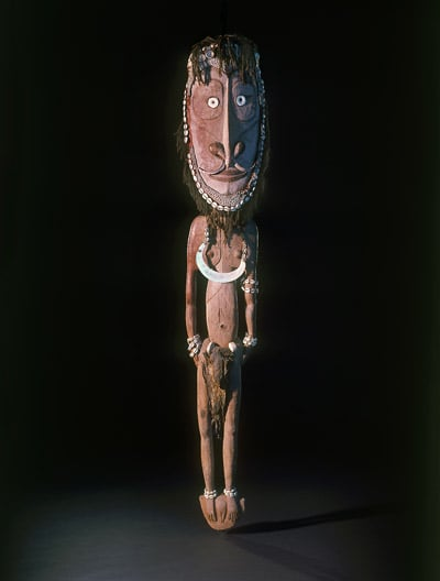 1. Museum of Archaeology and Anthropology, Cambridge. Free entry to all - Iatmul People, Iamwail (Initiation Figure of a Shamanic Spirit)