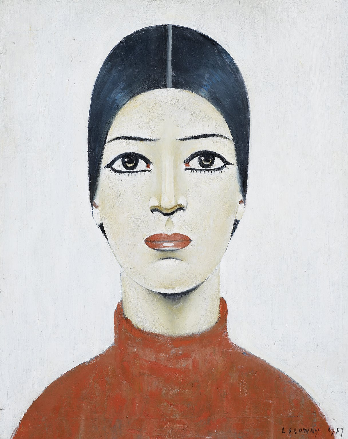 5. Portrait of Ann, 1957. The Lowry, Salford - © The Lowry Collection, Salford