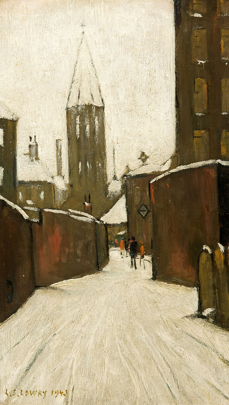 Five Must See Works By Ls Lowry Art Fund