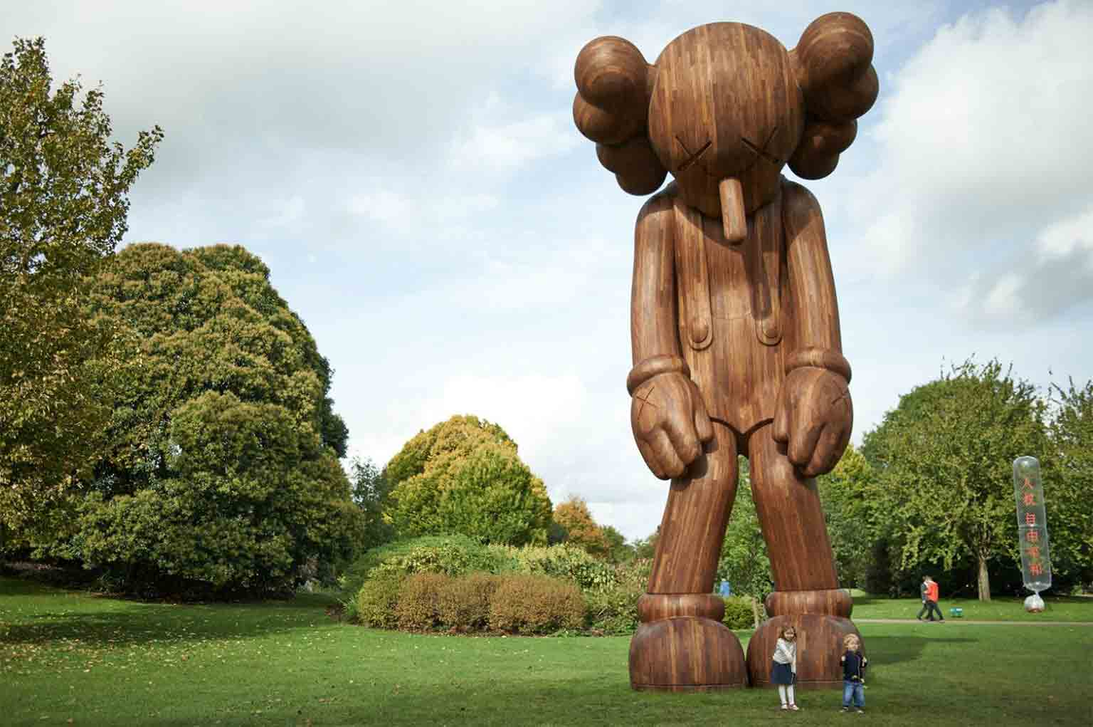 3. KAWS, Yorkshire Sculpture Park. Free to all - KAWS, Small Lie, 2013. Courtesy the artist and YSP