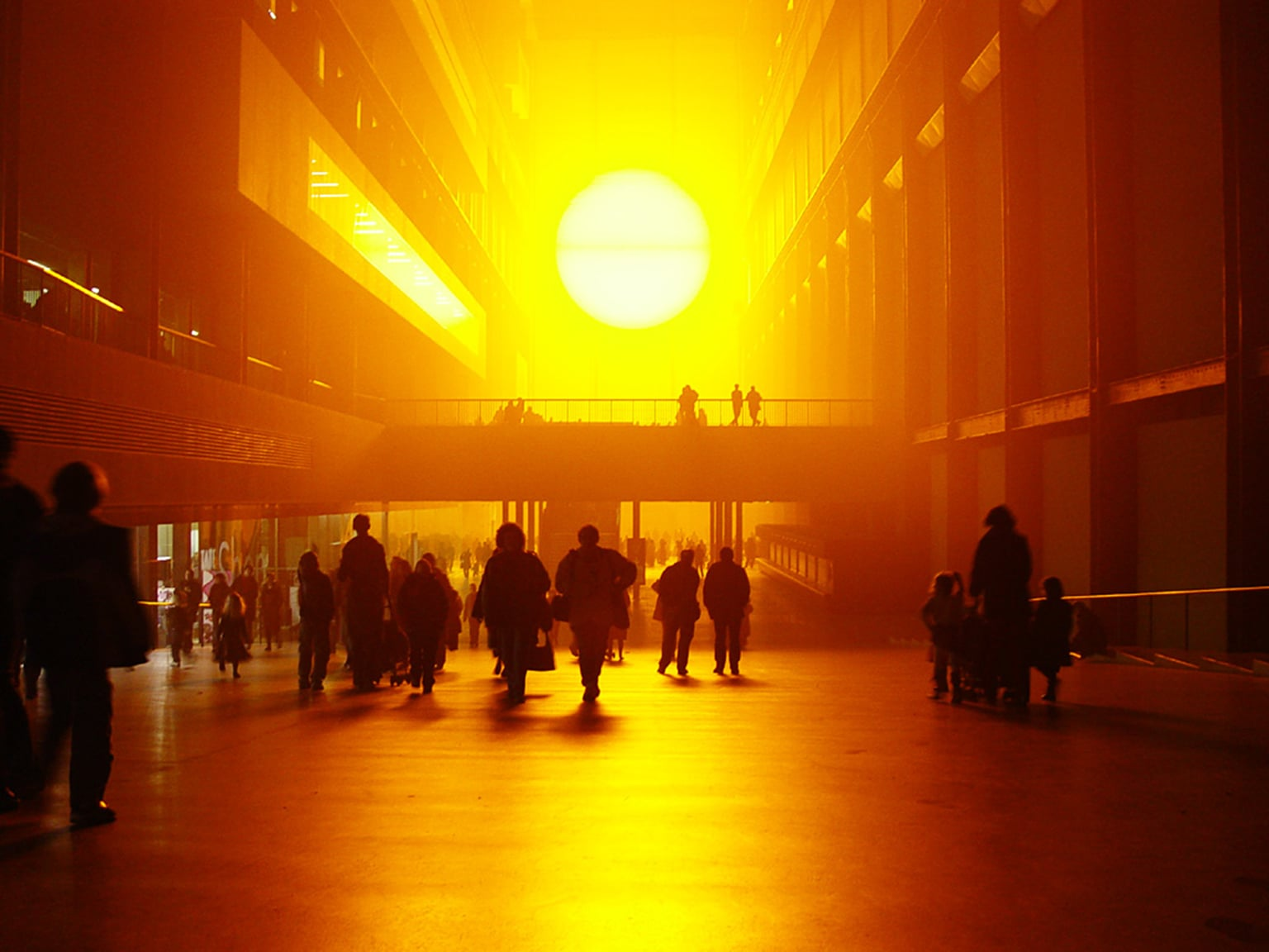 Olafur Eliasson, The Weather Project, 2003 -