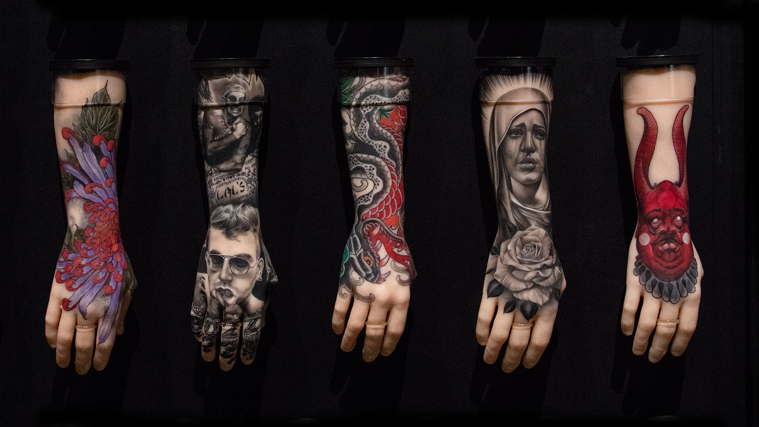 Five must see works at national maritime museum cornwall s for Top 100 tattoo artists world