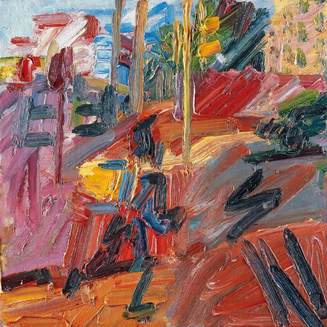 Frank Auerbach, Hampsted Highroad, High Summer, 2010