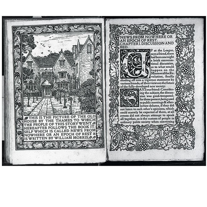 A publication by William Morris