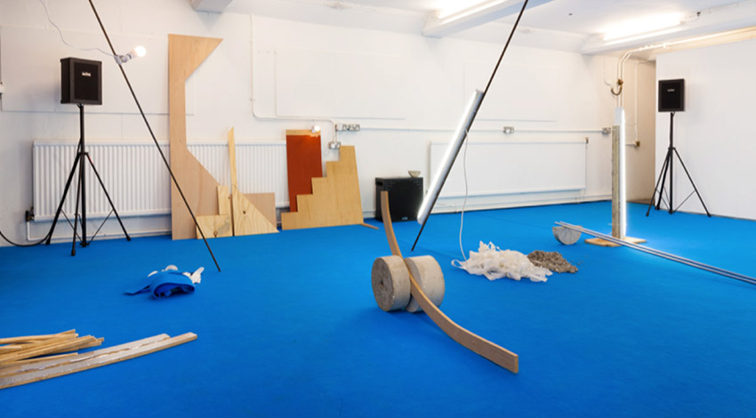 Anne Hardy, 2015. Installation at fig-2 exhibition, week 26/50 - Courtesy the artist, photography by Angus Mill