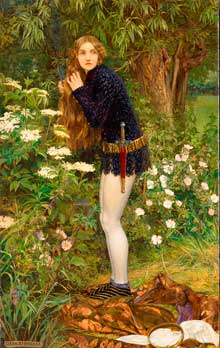 Eleanor Fortescue-Brickdale, The Little Foot Page, 1905