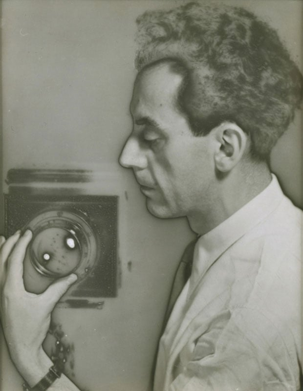 Man Ray, Self-portrait with Camera, 1932