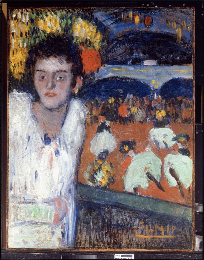 Pablo Picasso, At the Moulin Rouge, 1901