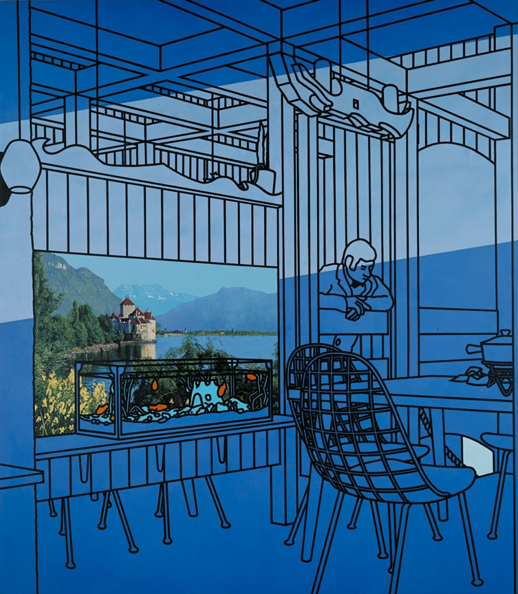 Patrick Caulfield, After Lunch, 1975