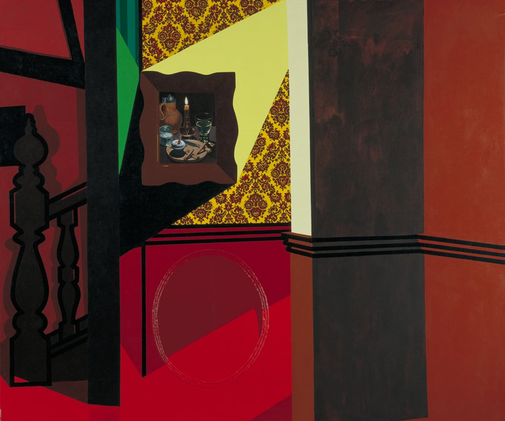 Patrick Caulfield, Interior with a Picture, 1985-6