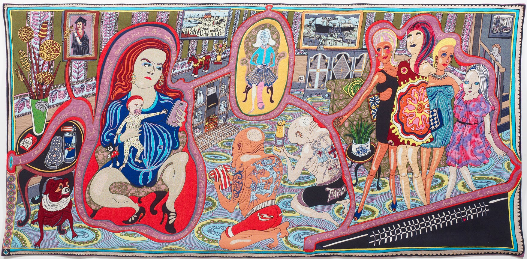Grayson Perry The Adoration of the Cage Fighters, 2012