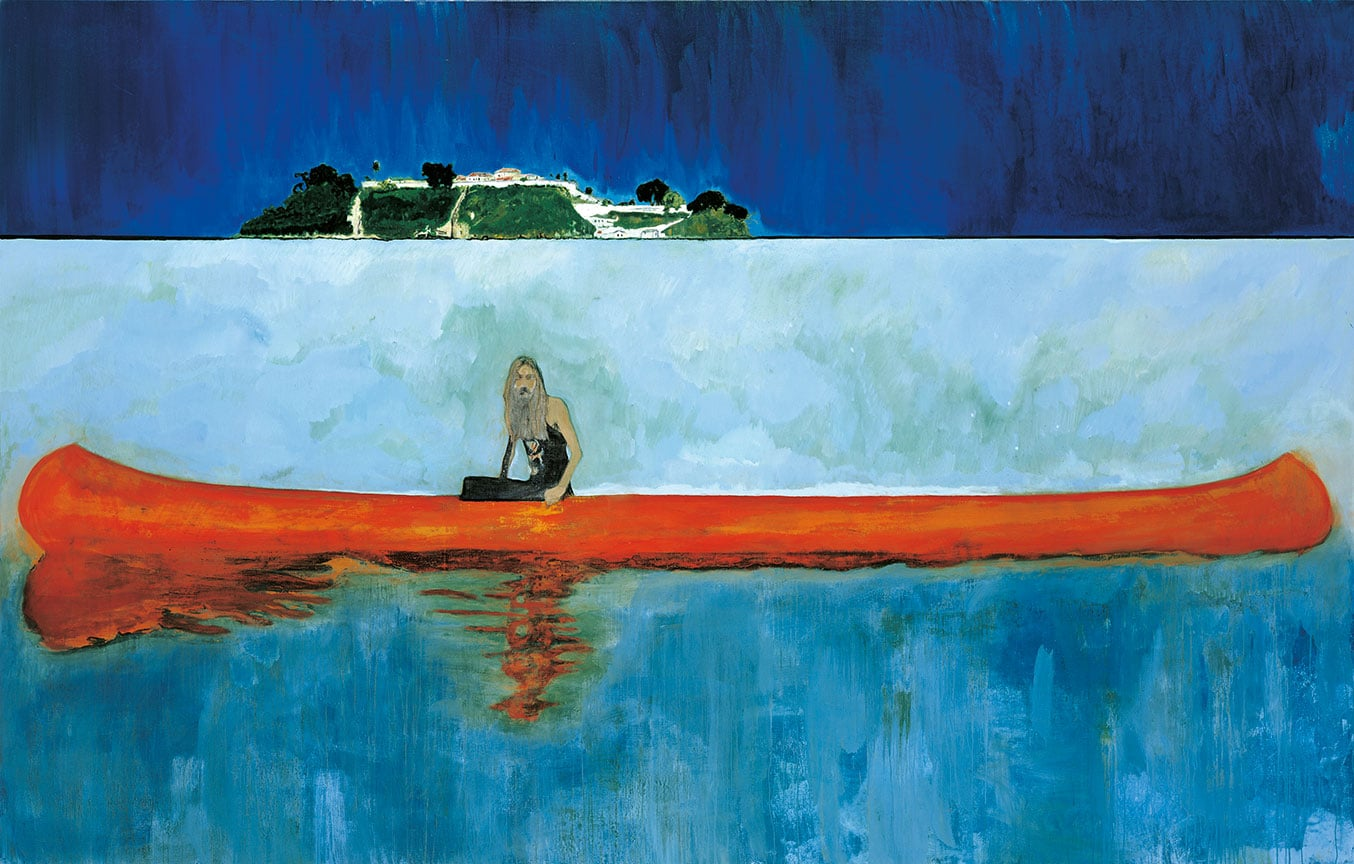 Symbolism Trees Peter Doig Exhibition Scottish National Gallery 50