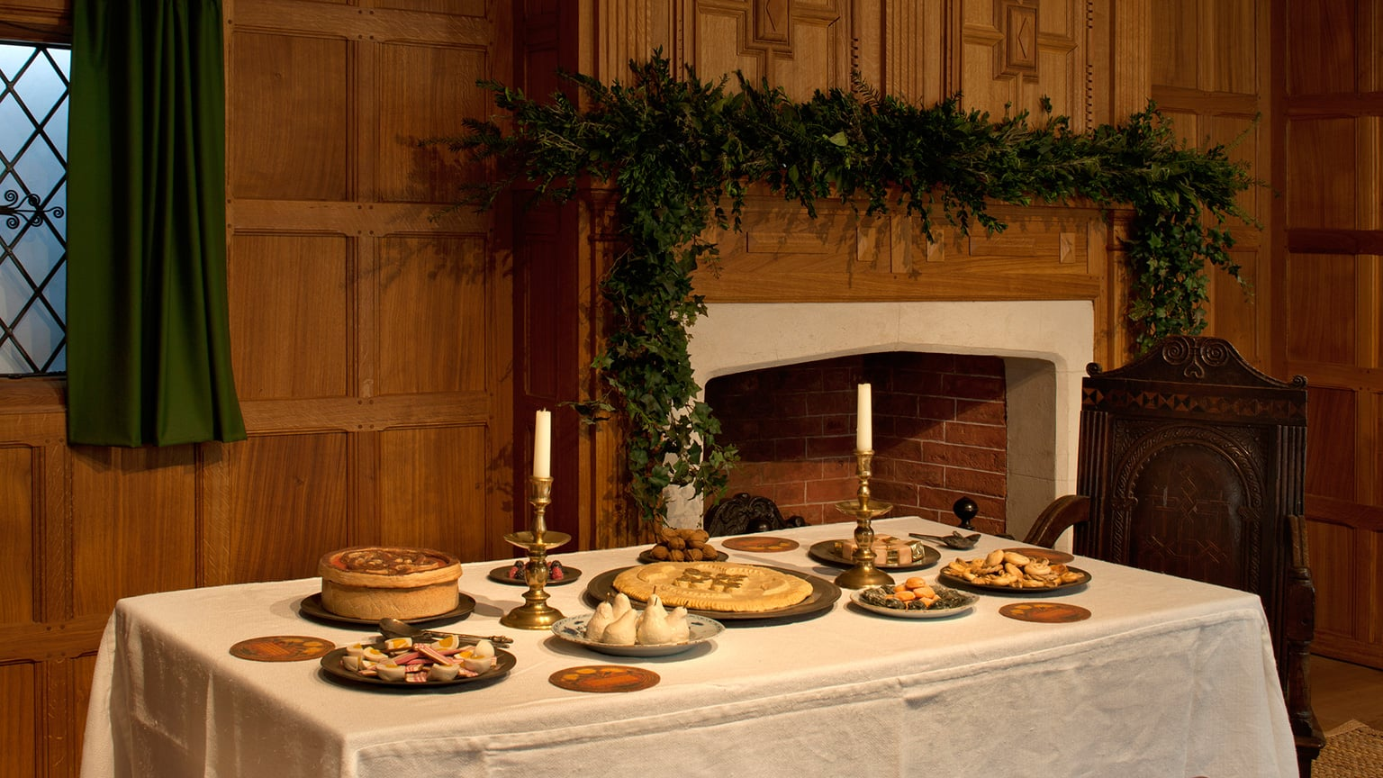 Christmas Past: A hall in 1630