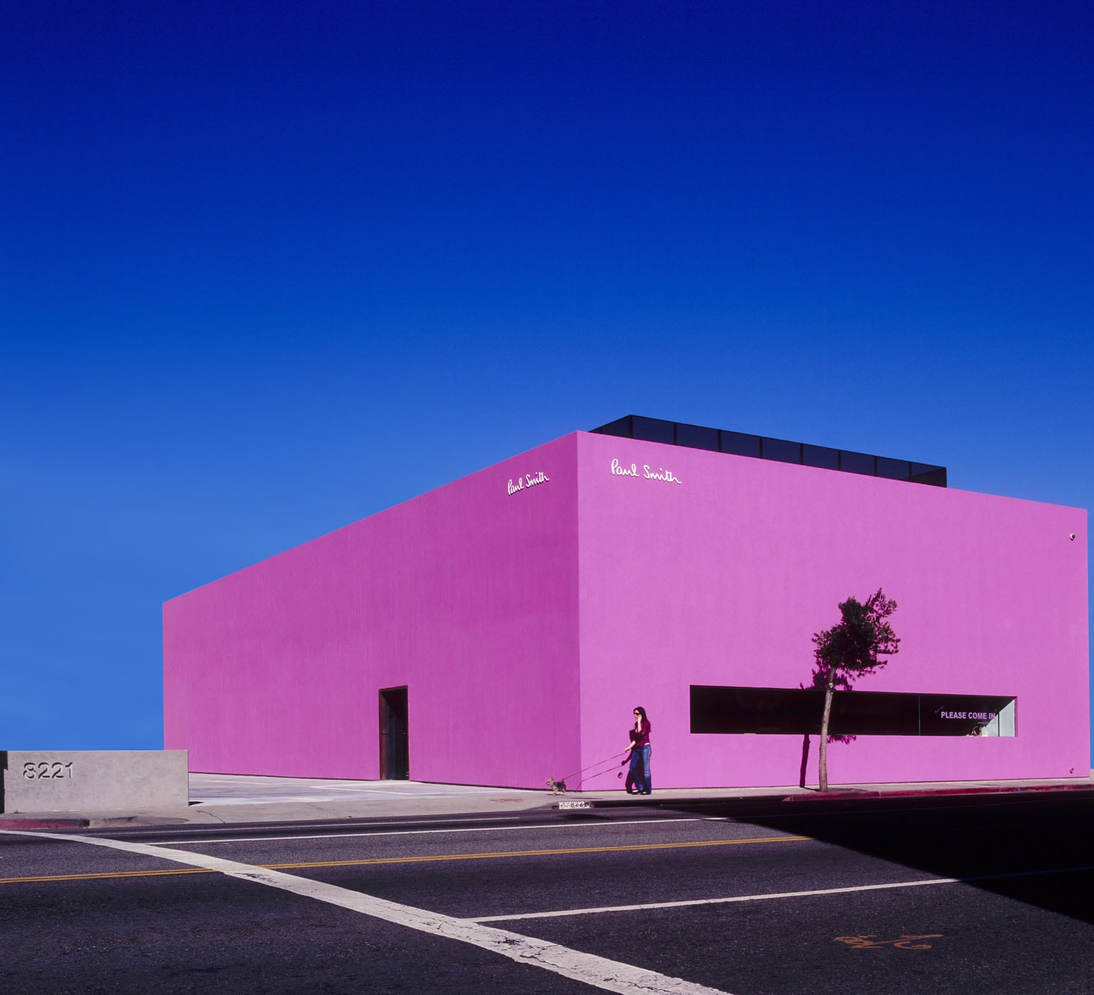 Paul Smith store, Melrose Avenue, Los Angeles