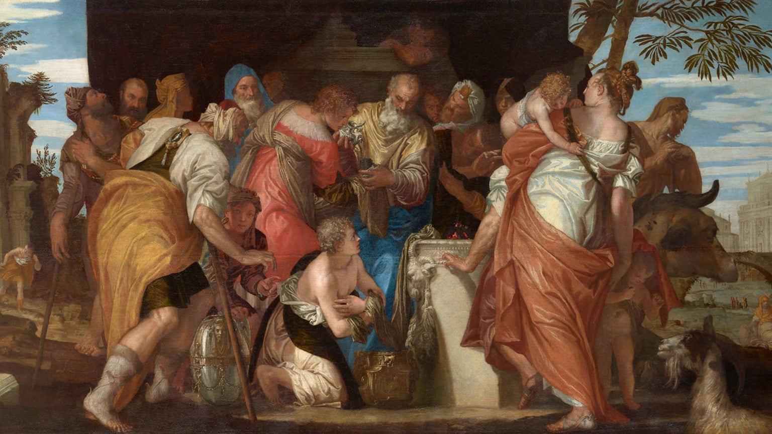 2. Veronese: Magnificence in Renaissance Venice at the National Gallery. 50% off with National Art Pass - Paolo Veronese, The Anointment of David, about 1550. Kunsthistorisches Museum, Vienna © KHM, Vienna