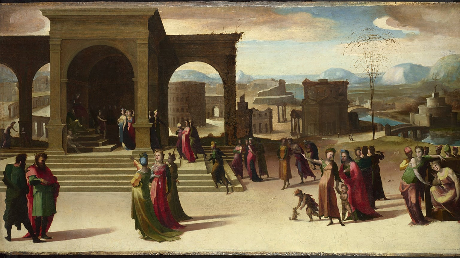 the italian renaissance art The renaissance was a time when venice was the world's busiest seaport and florence was the heart of great art at the beginning of the renaissance, italy was the.