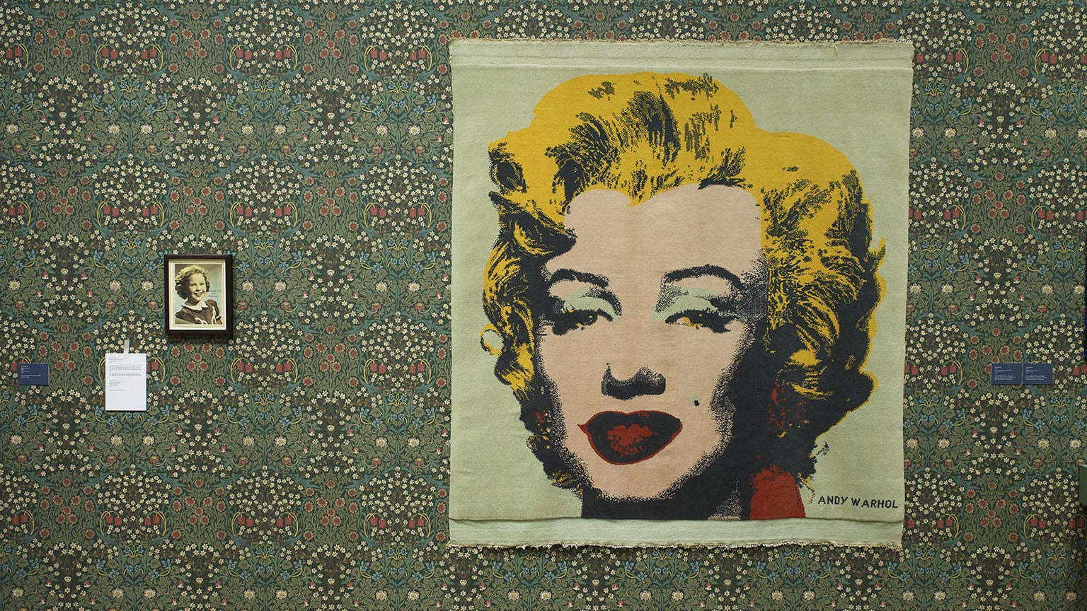 1. Love is Enough: William Morris and Andy Warhol, Birmingham Museum and Art Gallery, free with National Art Pass - Love is Enough installation image © Modern Art Oxford. Image: Andy Keate