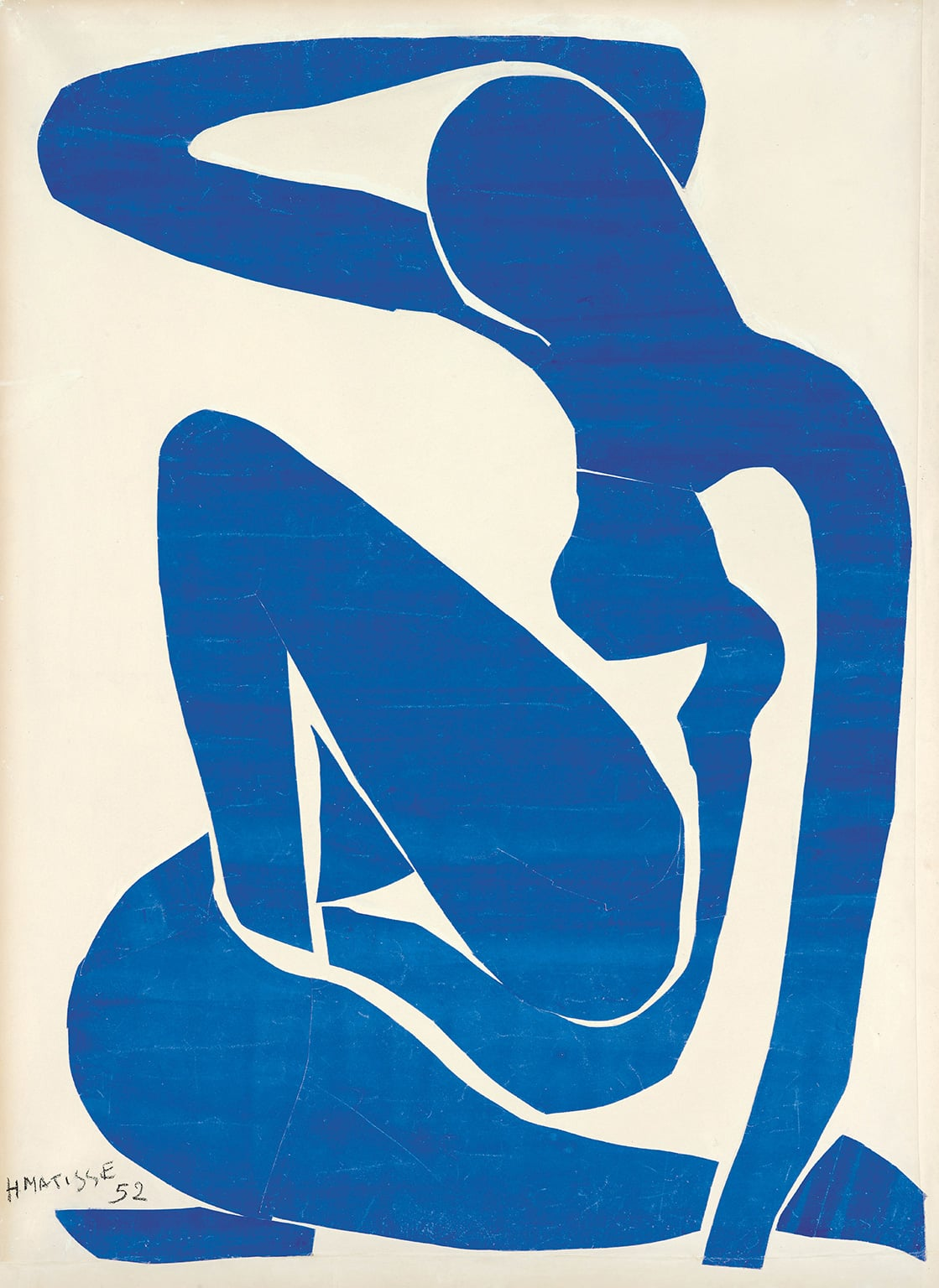 4. Matisse: The Cut-Outs at Tate Modern. 50% off with National Art Pass - Henri Matisse, Blue Nude (I), 1952. Foundation Beyeler, Riehen/Basel. Photo: Robert Bayer, Basel © Succession Henri Matisse/DACS 2013