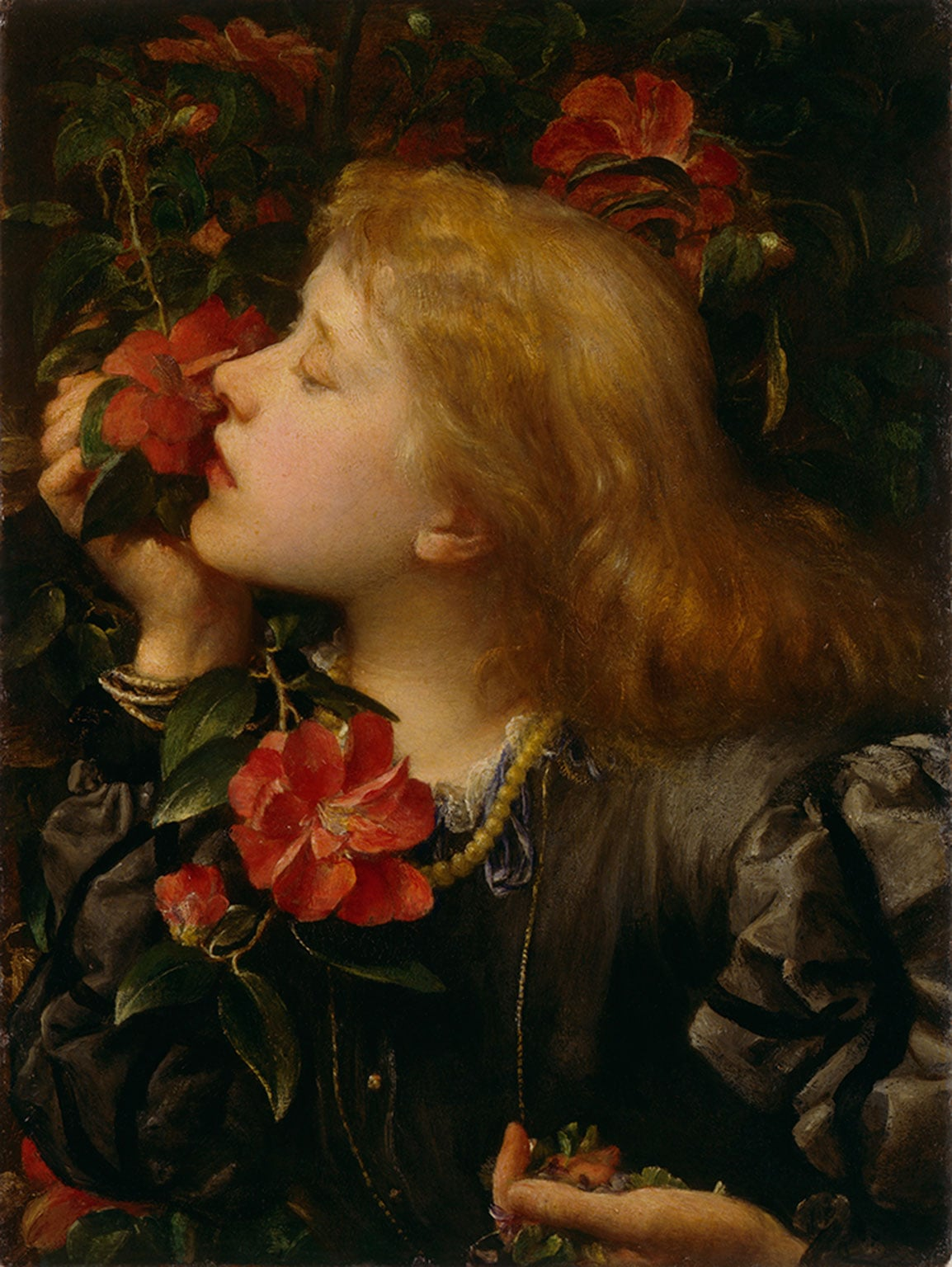 5. George Frederic Watts  Ellen Terry: The Painter's Actress, Watts Gallery, Guildford. Reduced price with National Art Pass - George Frederic Watts, Ellen Terry (Choosing), 1864. © National Portrait Gallery, London