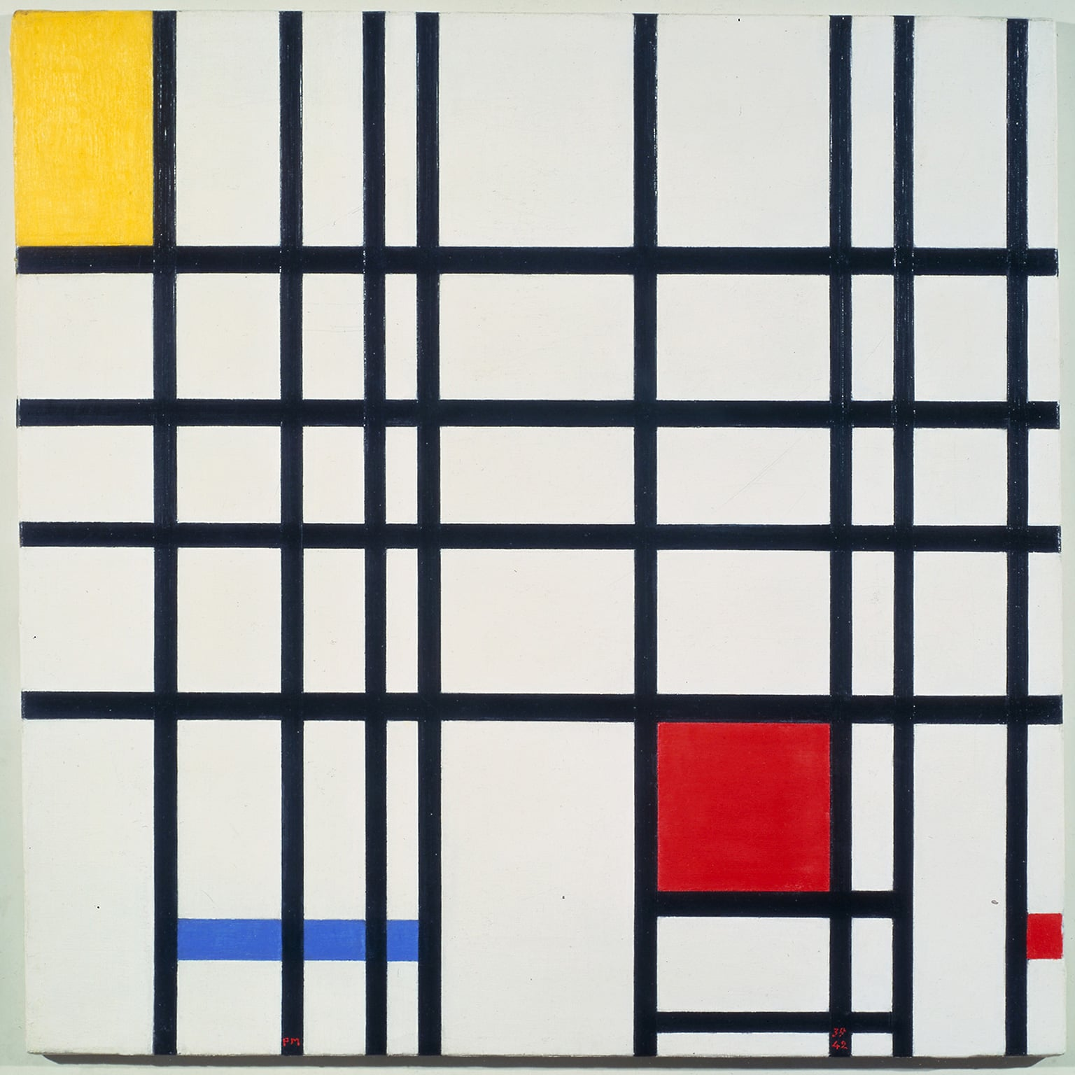 1. Mondrian and Colour, Turner Contemporary, Margate, 24 May - 21 September/ Mondrian and his Studios, Tate Liverpool, 6 June - 5 October. 50% off entry with National Art Pass - Piet Mondrian, Composition with Yellow, Blue and Red 1937 – 42. © 2013 Mondrian/Holtzman Trust c/o HCR International
