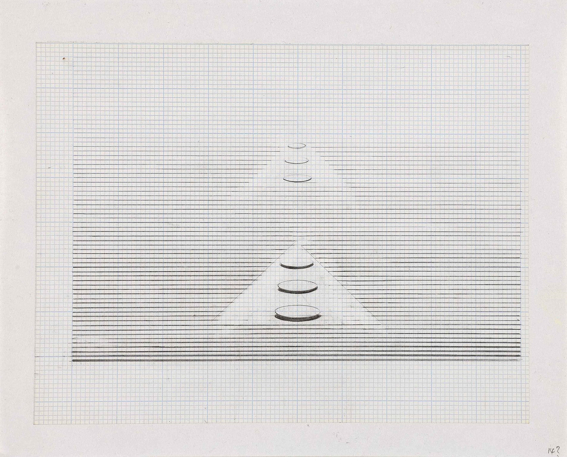 Nasreen Mohamedi Untitled, early 1980s