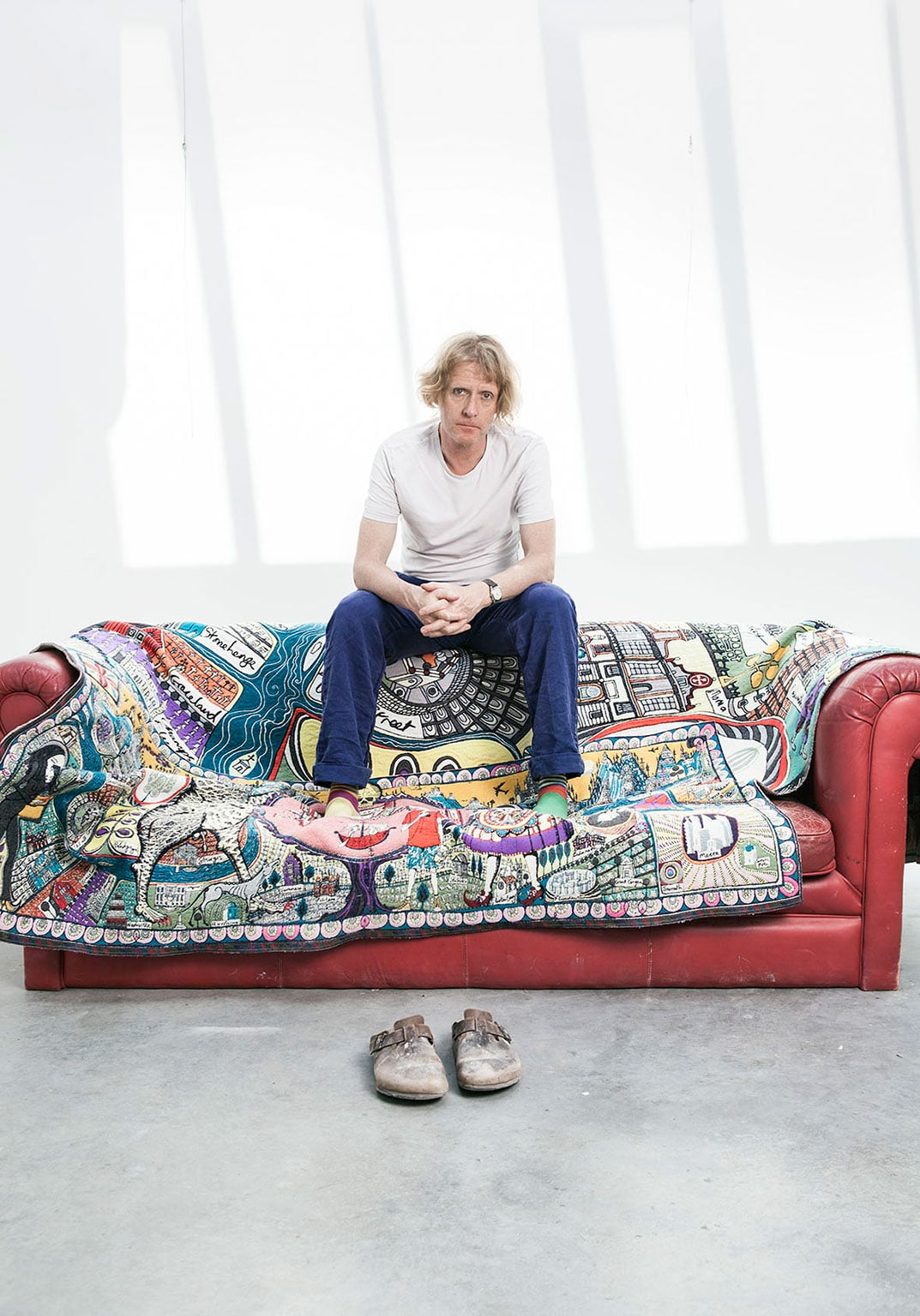 Grayson Perry: Who Are You?, National Portrait Gallery. Free to all - Grayson Perry. Photo: Penguin Books © Jochen Braun