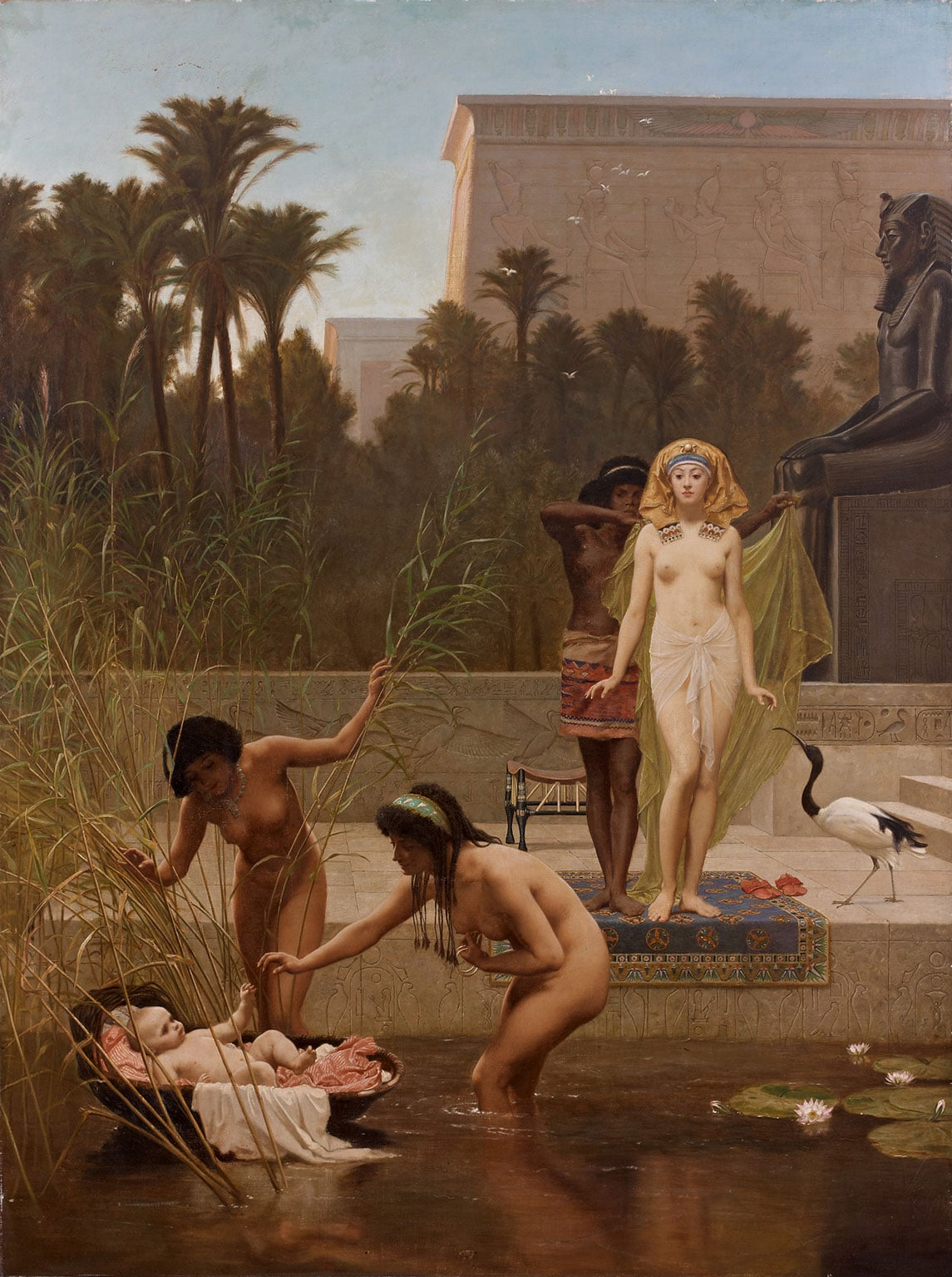 Frederick Goodall, The Finding of Moses, 1885