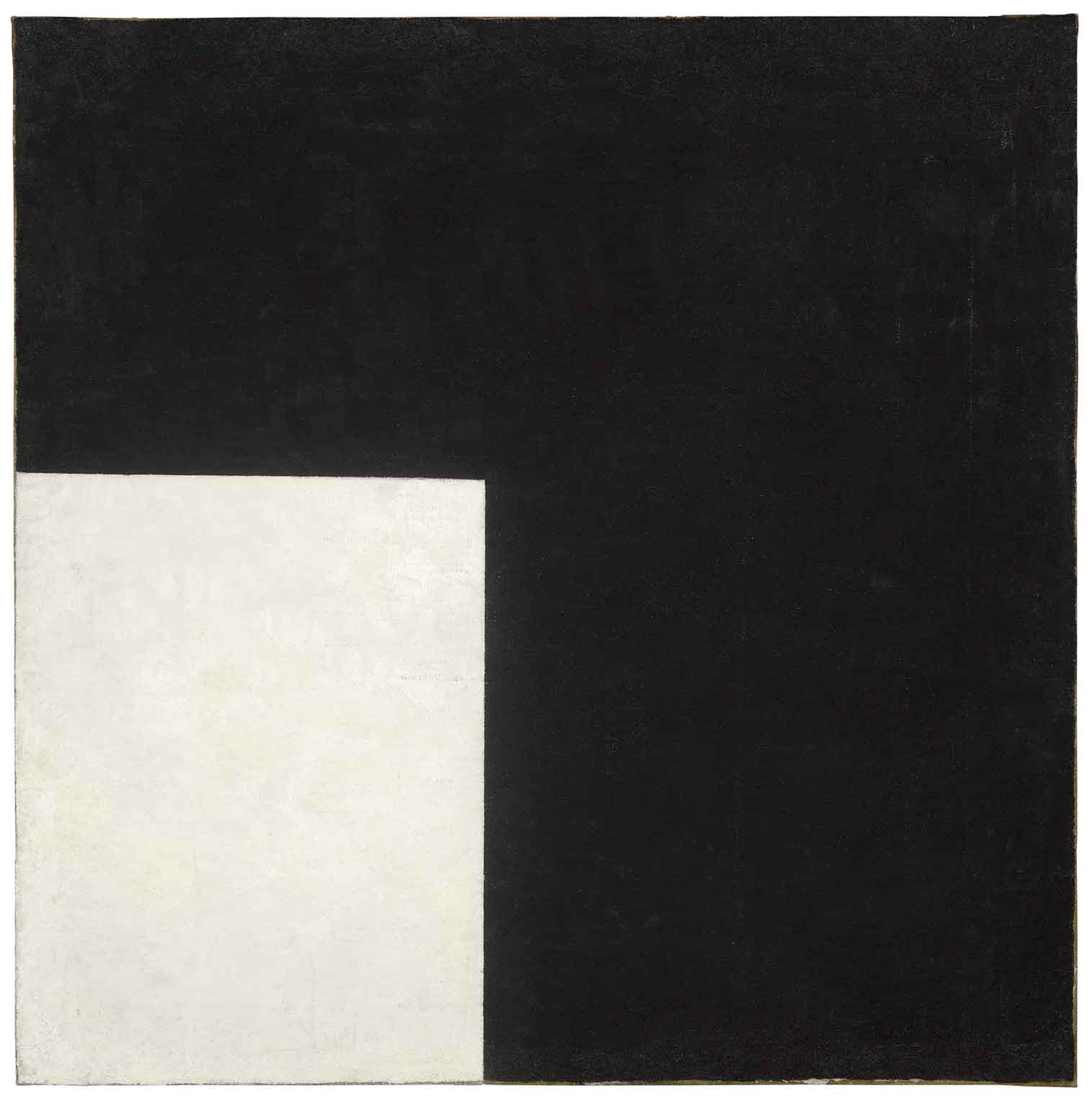 Adventures of the Black Square: Abstract Art and Society 1915 – 2015, Whitechapel Gallery, 50% off with National Art Pass - Kazimir Malevich, Black and White. Suprematist Composition, 1915. Moderna Museet, Stockholm