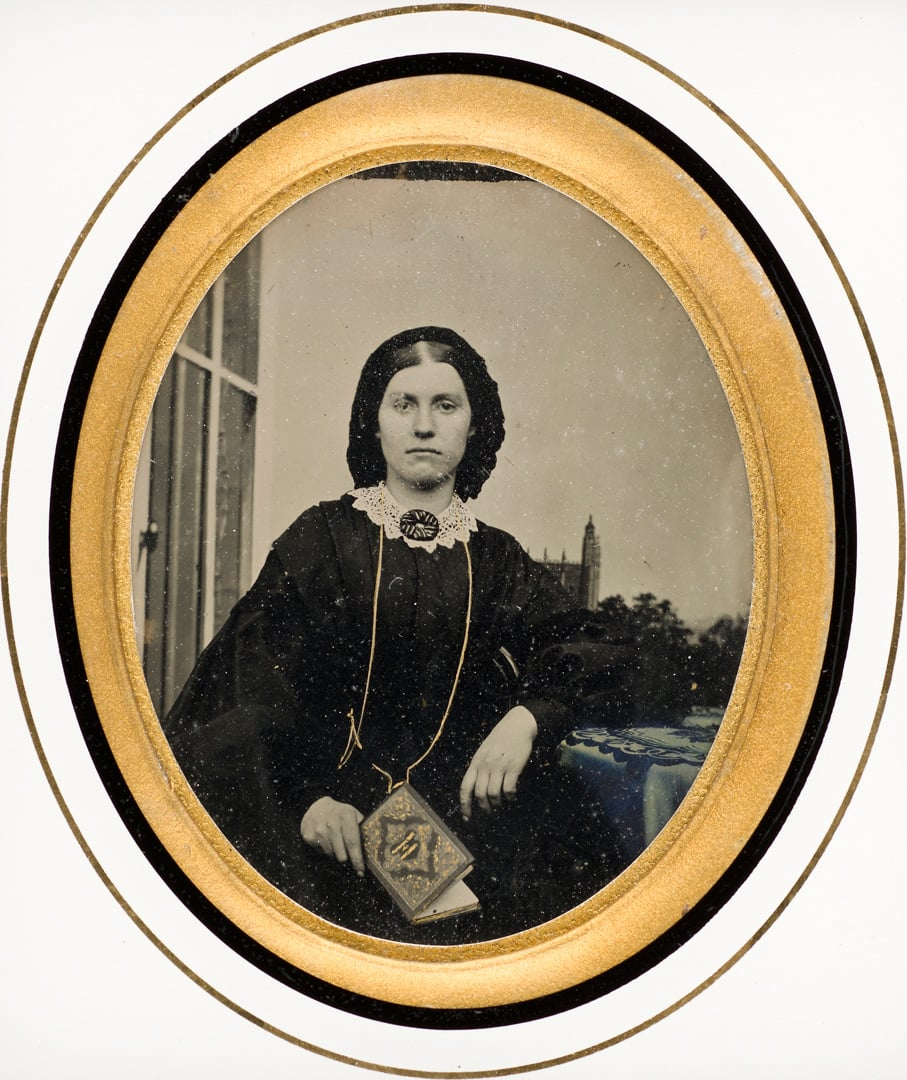 2. Historic Photography, National Museum Cardiff, free to all - Woman, 1857, National Museum Cardiff