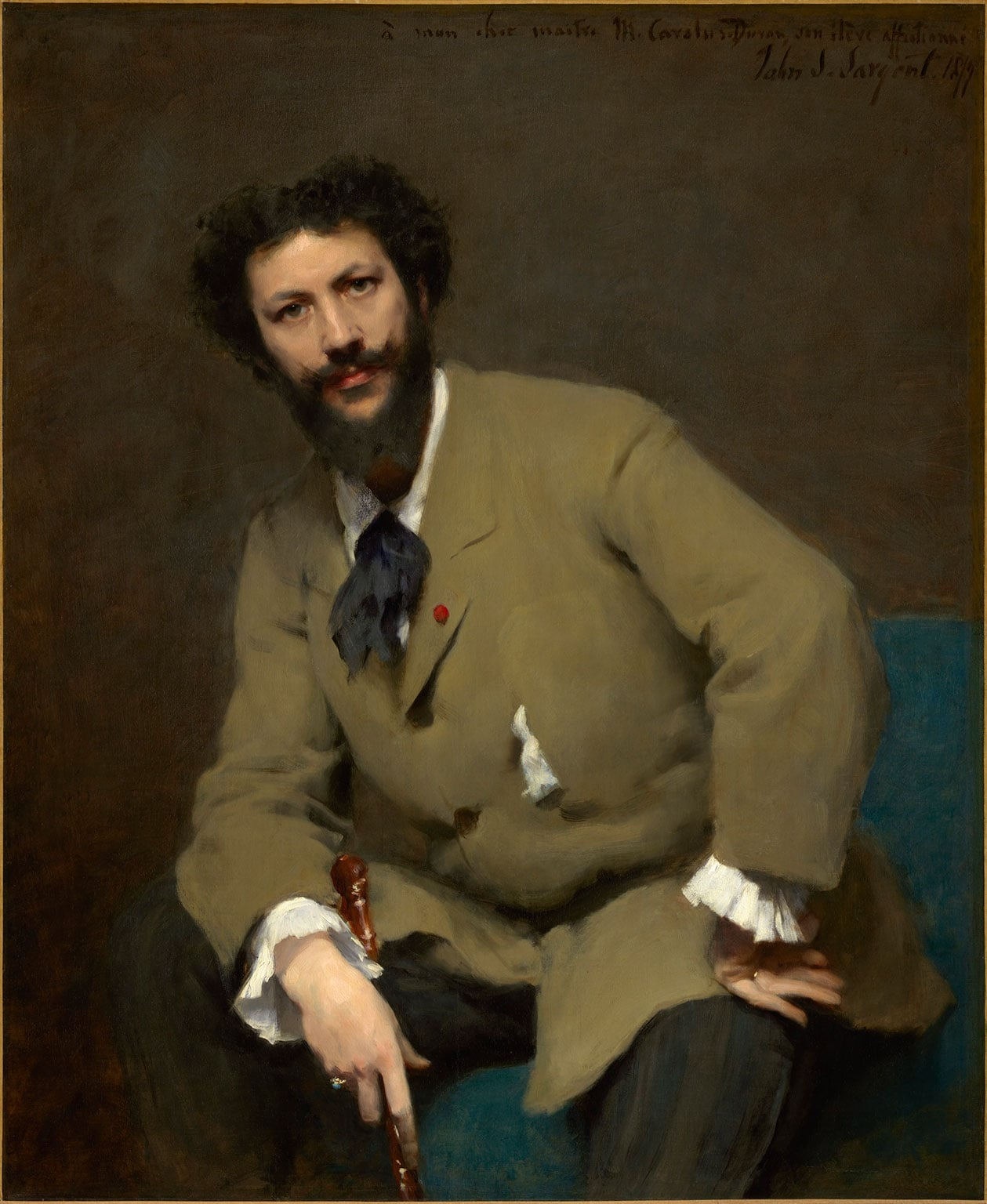 1. John Singer Sargent, Carolus-Duran, 1879 - © Sterling and Francine Clark Art Institute, Williamstown, Massachusetts, USA (photo by Michael Agee)