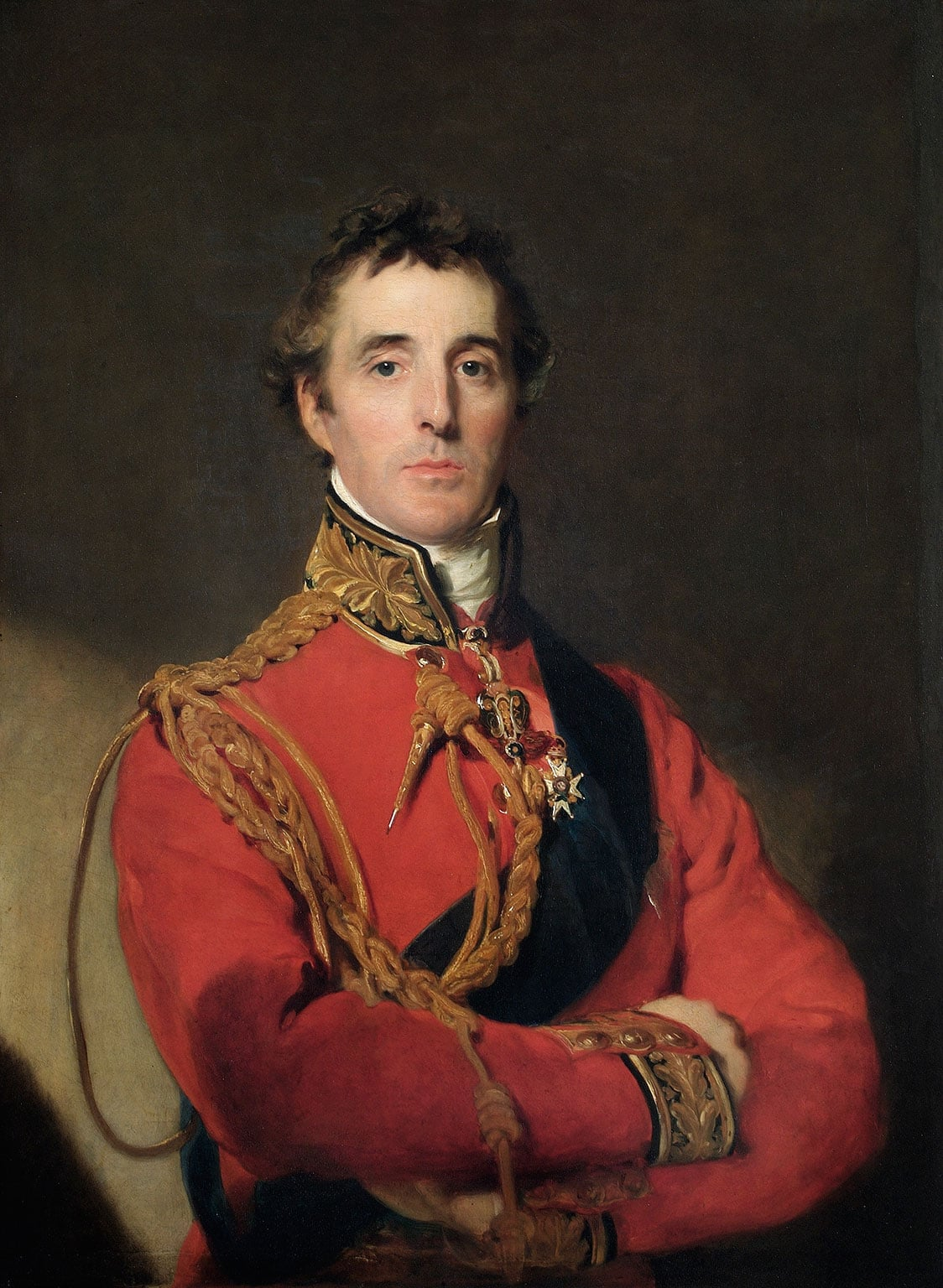 3. Wellington: Triumphs, Politics and Passions, National Portrait Gallery, free to all - Sir Thomas Lawrence, Arthur Wellesley, 1st Duke of Wellington, 1815-16. © Wellington Collection, Apsley House, London (English Heritage)