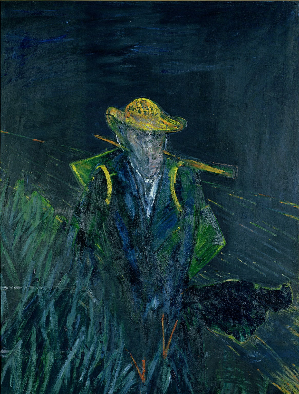 4. Francis Bacon and the Masters, Sainsbury Centre for Visual Arts. 50% off with National Art Pass - Francis Bacon, Study for a Portrait of Van Gogh I, 1956. © The Estate of Francis Bacon. All rights reserved. DACS 2014