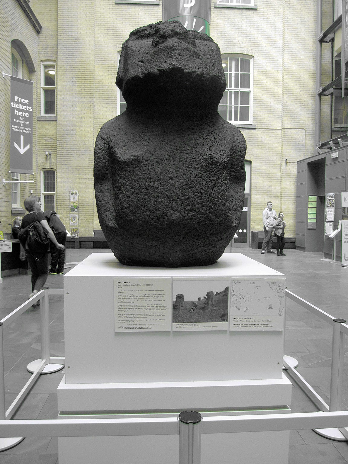 2. Making Monuments on Rapa Nui: The Statues from Easter Island, Manchester Museum, free to all - Manchester Museum