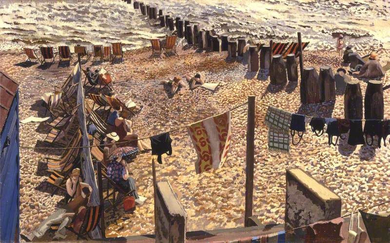 5. The Creative Genius of Stanley Spencer, Stanley Spencer Gallery, free with National Art Pass - Stanley Spencer, Southwold, Sussex, 1937 Aberdeen Art Gallery and Museums Collections. © The Estate of Stanley Spencer