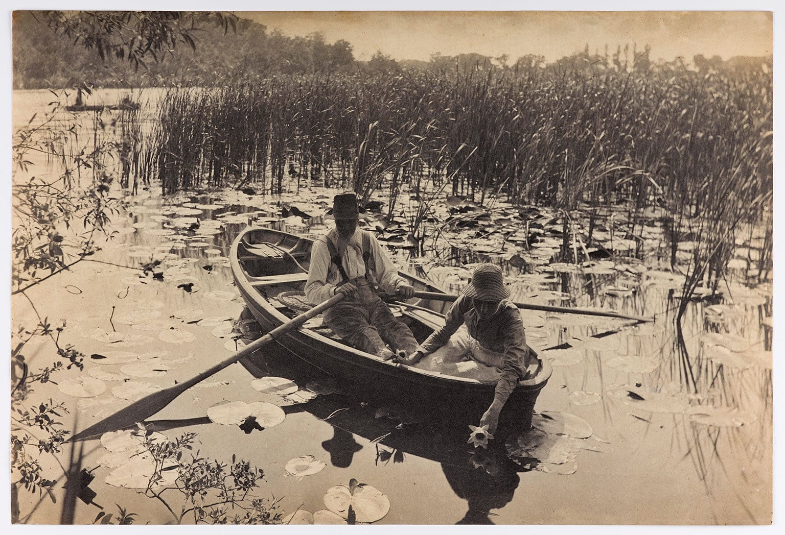 1. Photography: A Victorian Sensation, National Museum of Scotland, 50% off with National Art Pass - Peter Harry Emerson, Gathering Water Lilies, 1886. © Howarth-Loomes Collection at National Museums Scotland