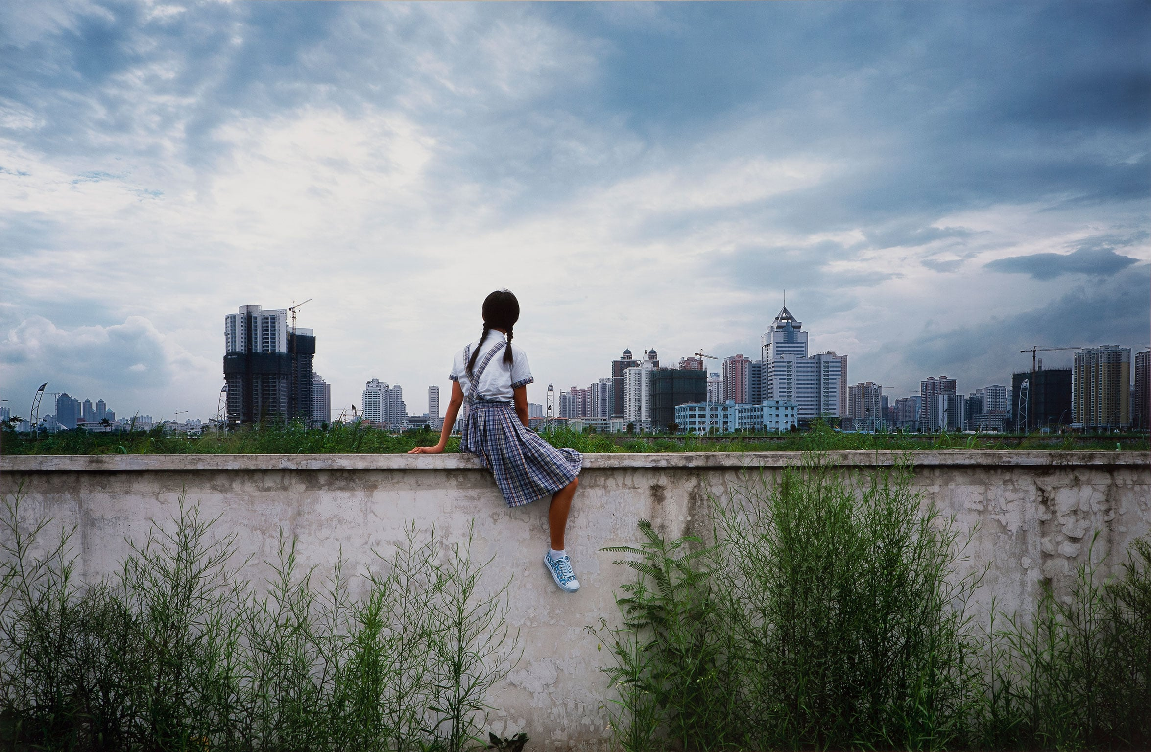 5. The M  Sigg Collection: Chinese art from the 1970s to now, The Whitworth, free to all - Weng Fen, On the Wall – Shenzhen (I), 2002. Courtesy The Whitworth