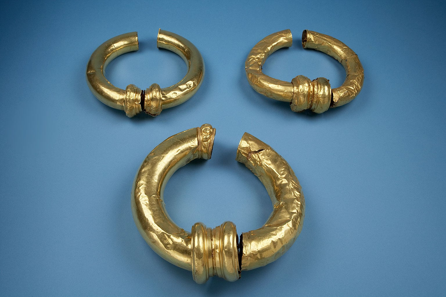 4. Gold torcs, England, 200-50 BC - © Norwich Castle Museum and Art Gallery