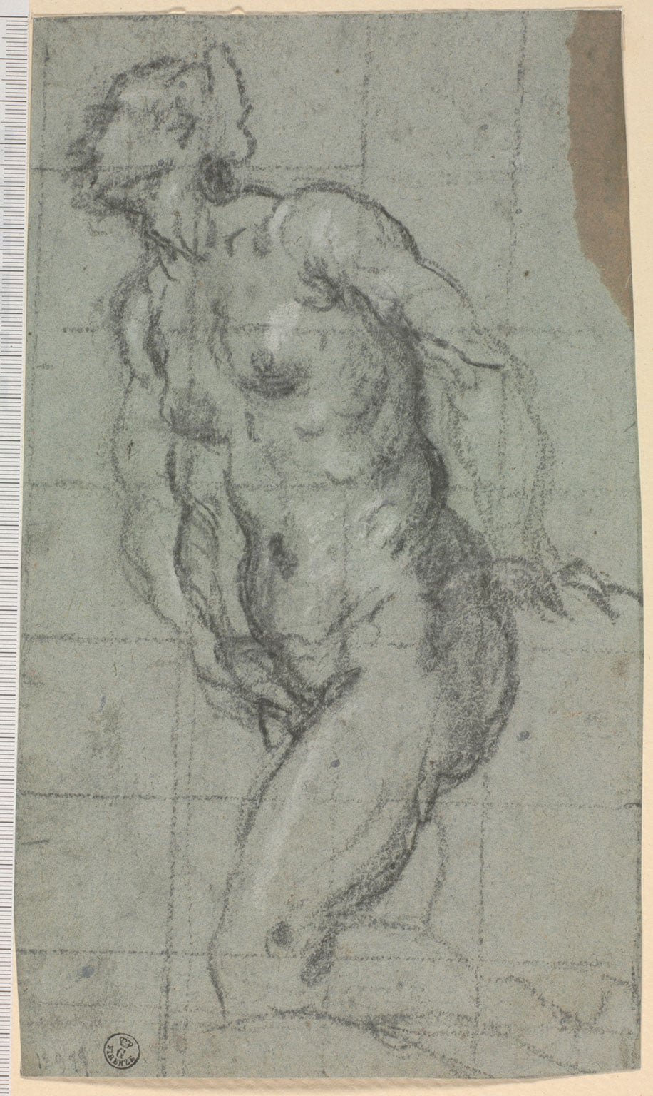 Jacopo Robusti, called Tintoretto, Study for Eve