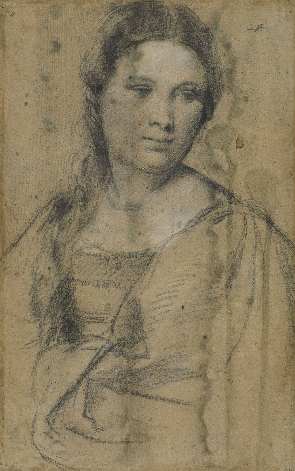 Tiziano Vecellio, known as Titian, Portrait of a young woman