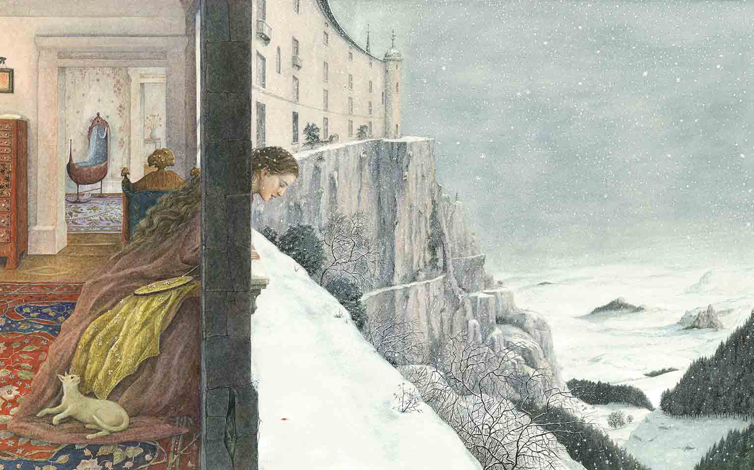 1. Drawing on Childhood, The Foundling Museum, free with National Art Pass - Angela Barrett, Snow White's Mother, 1991 @ Angela Barrett
