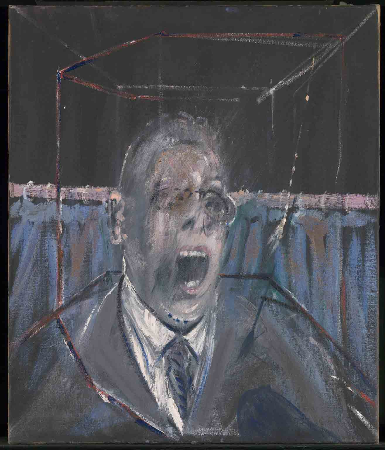 Francis Bacon: Invisible Rooms, Tate Liverpool, 18 May – 18 September - Francis Bacon, Study for a Portrait, 1952. © Estate of Francis Bacon