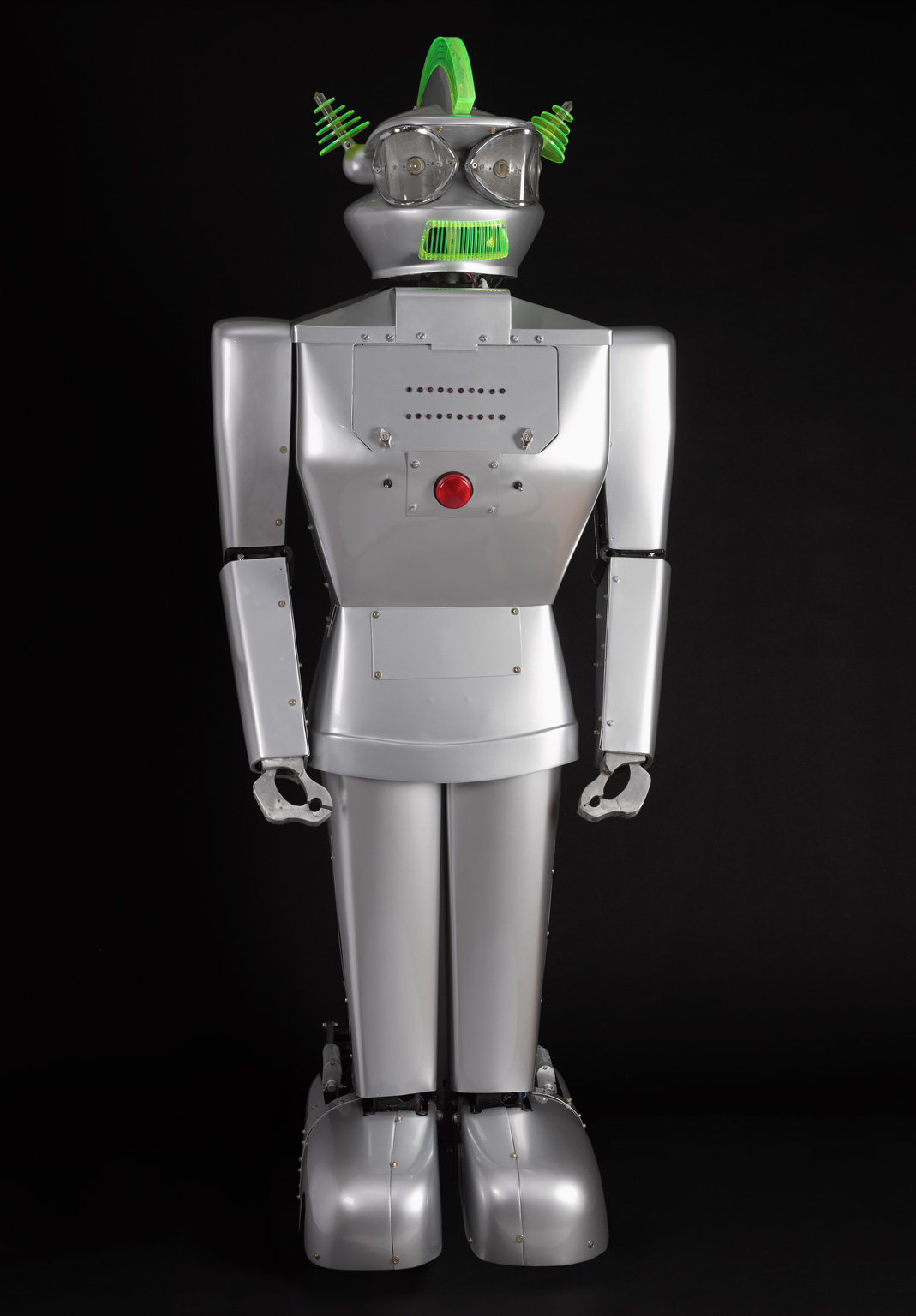 Built Dr Piero Fiorito, Humanoid robot, Cygan, 1957 at Science Museum's Robots - © Science Museum / Jerry Wallace (owner)