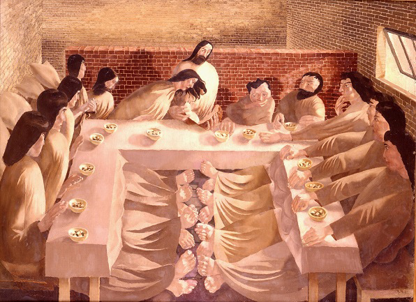 Stanley Spencer, The Last Supper, 1920