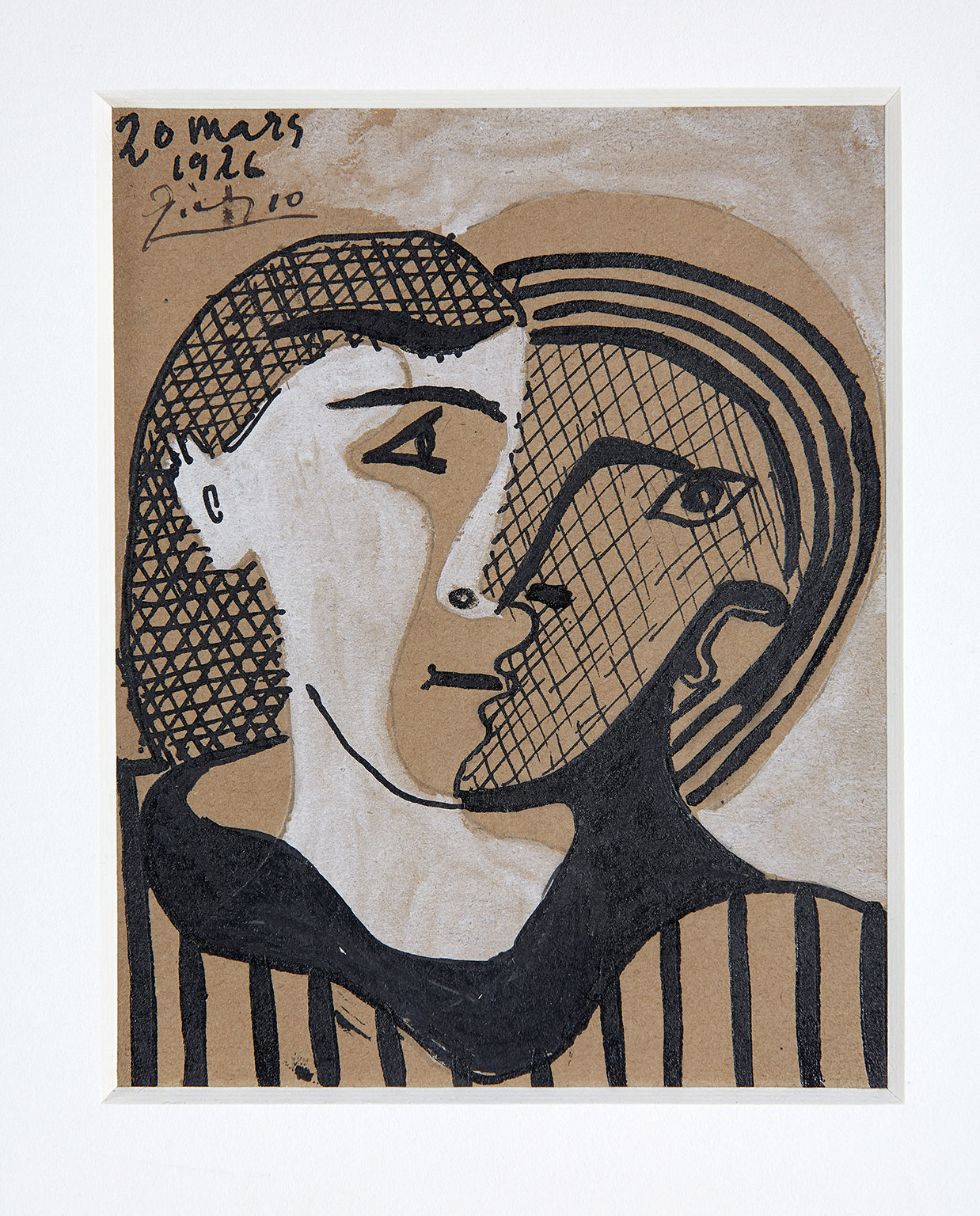Pablo Picasso, Head of a Woman, 1926